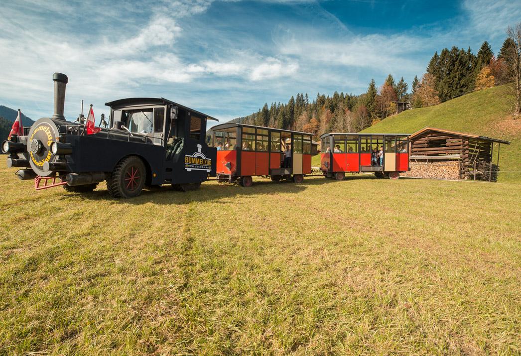 Bummelzug Wildschönau Tirol
