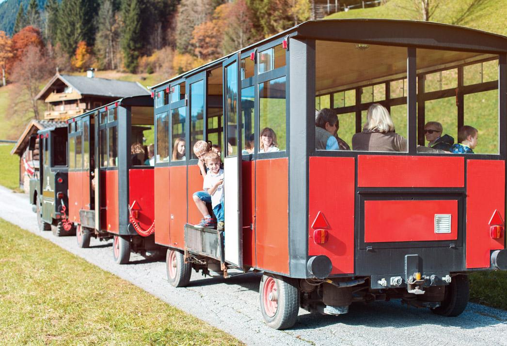 Bummelzug Wildschönau Tirol | Gruppenfahrt