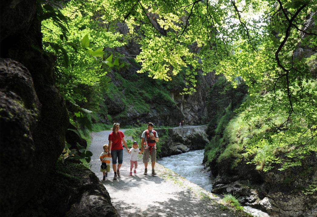 Bummelzug Wildschönau Tirol | Kundler Klamm