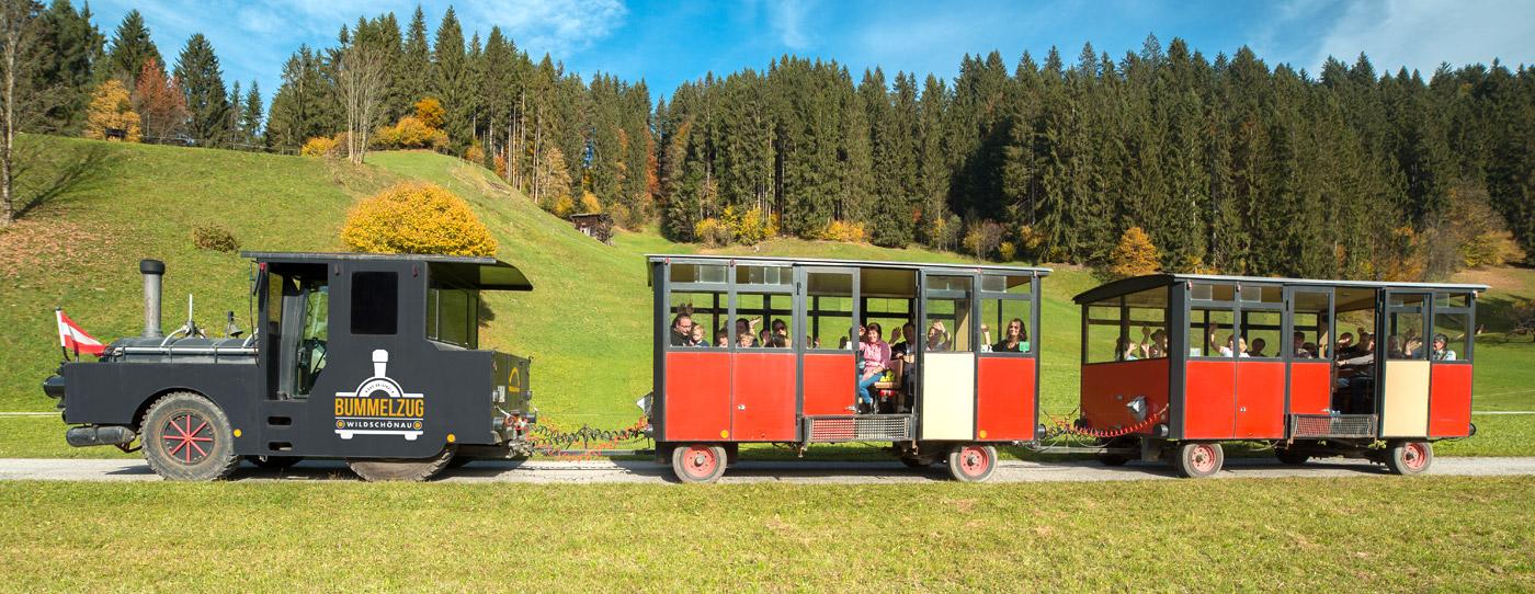 Bummelzug Wildschönau Tirol | Tagesausflug