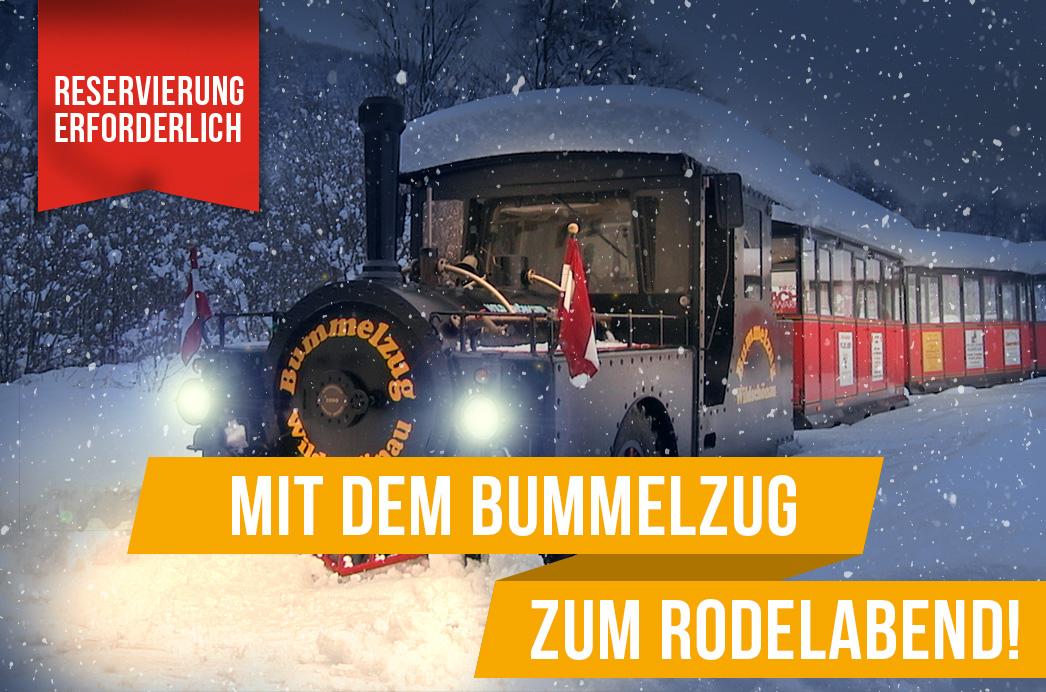 Bummelzug Wildschönau Tirol | Winter