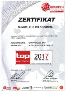 Bummelzug Wildschönau Tirol | Zertifikat Gruppenfahrten